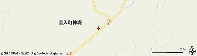 大分県竹田市直入町大字神堤950周辺の地図