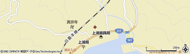 大分県佐伯市上浦大字津井浦1435周辺の地図