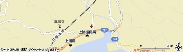 大分県佐伯市上浦大字津井浦1411周辺の地図