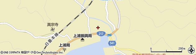 大分県佐伯市上浦大字津井浦1395周辺の地図