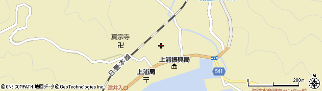 大分県佐伯市上浦大字津井浦1432周辺の地図