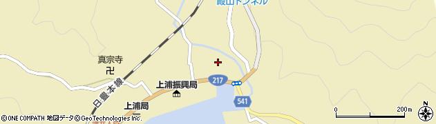 大分県佐伯市上浦大字津井浦1359周辺の地図