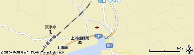 大分県佐伯市上浦大字津井浦1358周辺の地図