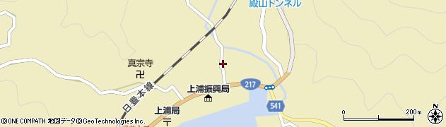 大分県佐伯市上浦大字津井浦1407周辺の地図