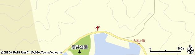 大分県佐伯市上浦大字最勝海浦5418周辺の地図