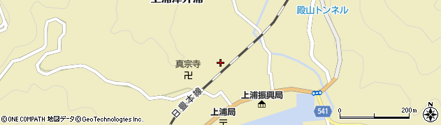大分県佐伯市上浦大字津井浦1254周辺の地図