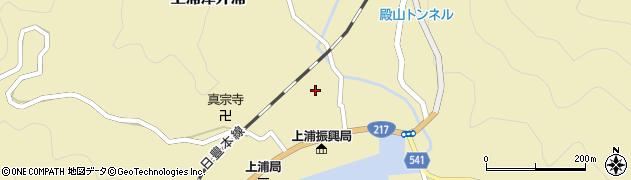 大分県佐伯市上浦大字津井浦1247周辺の地図