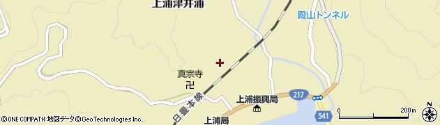 大分県佐伯市上浦大字津井浦1259周辺の地図