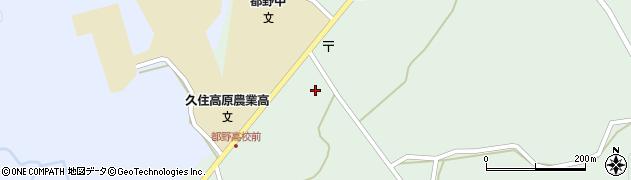 大分県竹田市久住町大字栢木5799周辺の地図