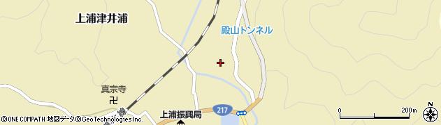 大分県佐伯市上浦大字津井浦339周辺の地図