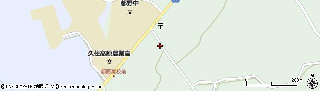 大分県竹田市久住町大字栢木5801周辺の地図