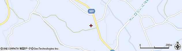 大分県竹田市久住町大字有氏1435周辺の地図