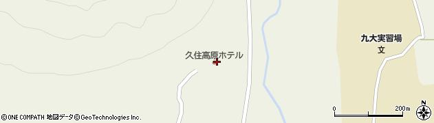 大分県竹田市久住町大字久住4031周辺の地図