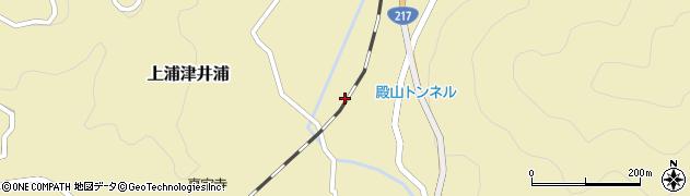 大分県佐伯市上浦大字津井浦348周辺の地図