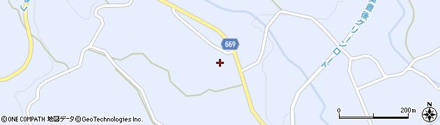 大分県竹田市久住町大字有氏1364周辺の地図