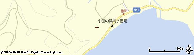 大分県佐伯市上浦大字最勝海浦1624周辺の地図