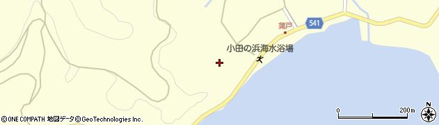 大分県佐伯市上浦大字最勝海浦1622周辺の地図