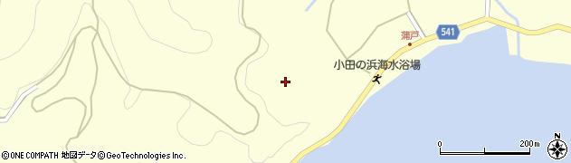 大分県佐伯市上浦大字最勝海浦1675周辺の地図