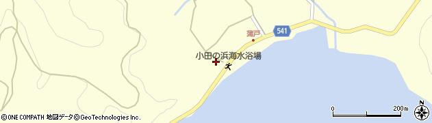 大分県佐伯市上浦大字最勝海浦1589周辺の地図