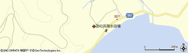 大分県佐伯市上浦大字最勝海浦1632周辺の地図