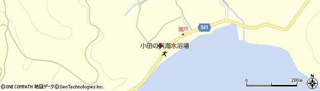 大分県佐伯市上浦大字最勝海浦1593周辺の地図