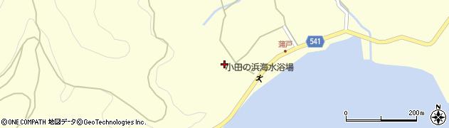 大分県佐伯市上浦大字最勝海浦1637周辺の地図