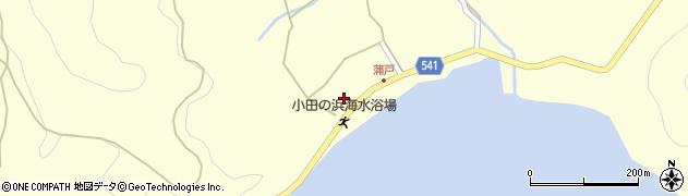大分県佐伯市上浦大字最勝海浦1582周辺の地図