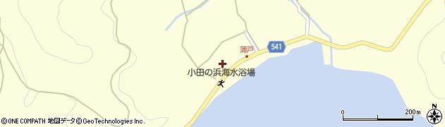 大分県佐伯市上浦大字最勝海浦1595周辺の地図
