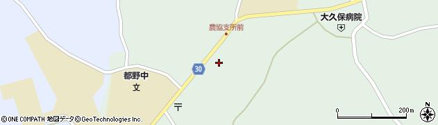 大分県竹田市久住町大字栢木都野周辺の地図