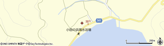 大分県佐伯市上浦大字最勝海浦1603周辺の地図