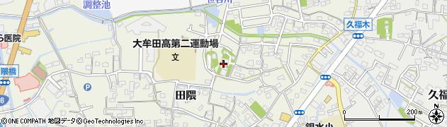 福因寺周辺の地図