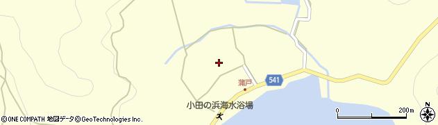 大分県佐伯市上浦大字最勝海浦1475周辺の地図