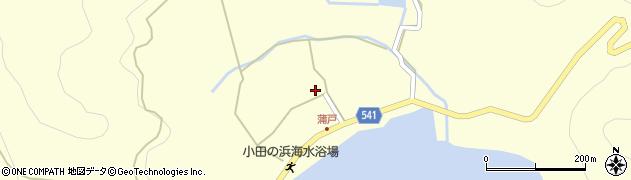 大分県佐伯市上浦大字最勝海浦1574周辺の地図