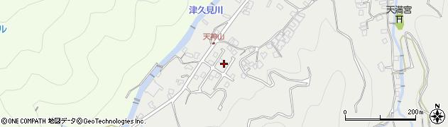 大分県津久見市津久見5797周辺の地図
