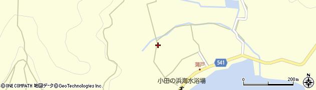 大分県佐伯市上浦大字最勝海浦1502周辺の地図