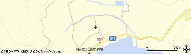 大分県佐伯市上浦大字最勝海浦1466周辺の地図