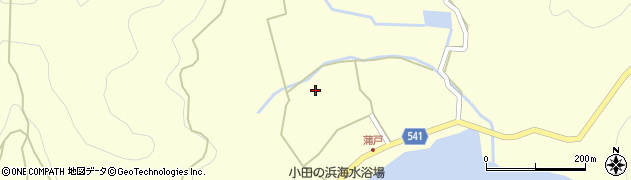 大分県佐伯市上浦大字最勝海浦1487周辺の地図