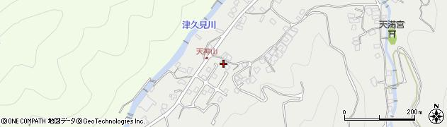 大分県津久見市津久見5804周辺の地図