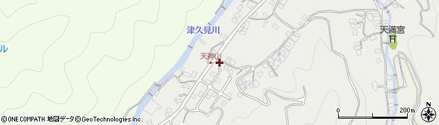 大分県津久見市津久見5830周辺の地図