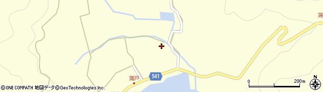 大分県佐伯市上浦大字最勝海浦1406周辺の地図