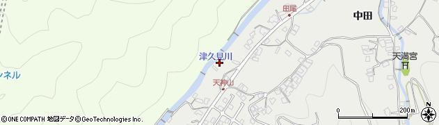 大分県津久見市津久見5955周辺の地図
