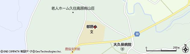 大分県竹田市久住町大字栢木6037周辺の地図