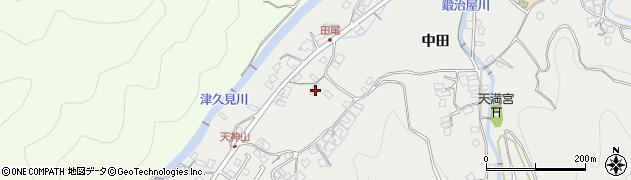 大分県津久見市津久見5714周辺の地図