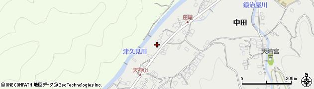 大分県津久見市津久見5872周辺の地図