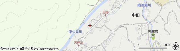 大分県津久見市津久見5873周辺の地図