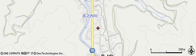 大分県津久見市津久見1323周辺の地図
