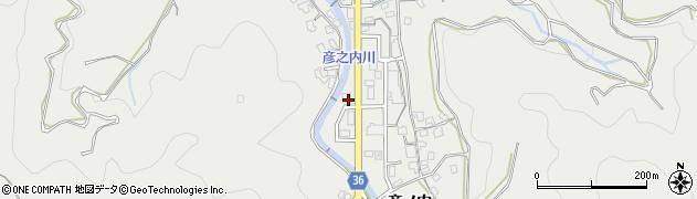 大分県津久見市津久見1358周辺の地図