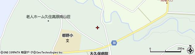 大分県竹田市久住町大字栢木6072周辺の地図