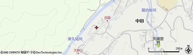 大分県津久見市津久見5877周辺の地図