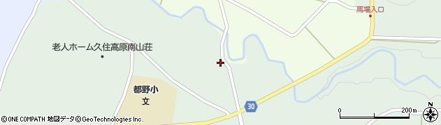 大分県竹田市久住町大字栢木6070周辺の地図